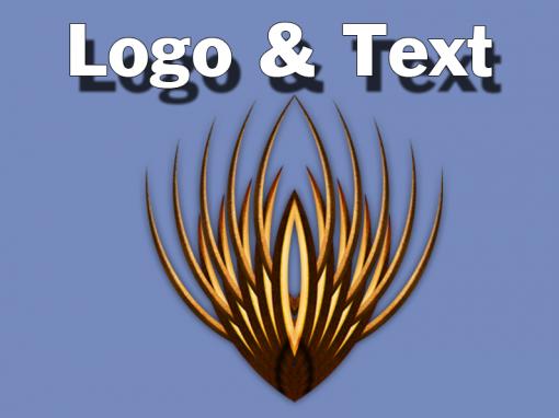 Logo & Text